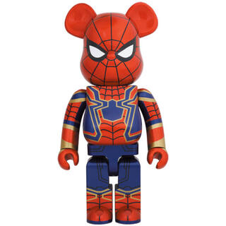 メディコムトイ(MEDICOM TOY)のBE@RBRICK IRON SPIDER 1000% スパイダーマン(その他)