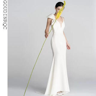 ヴェラウォン(Vera Wang)の新品未使用 リボンドレス ウェディングドレス(ウェディングドレス)
