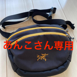 ARC'TERYX - アークテリクス マカ2   黒×黄