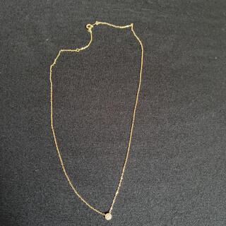 JEWELRY TSUTSUMI - Jewelry tsutsumi 10k 一粒ダイヤネックレス