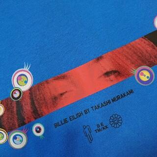 UNIQLO - ビリーアイリッシュ村上隆半袖TシャツサイズMblue青新品ユニクロオーバーサイズ