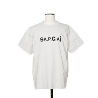 sacai - sacai apc サカイアーペーセー Tシャツ グレー