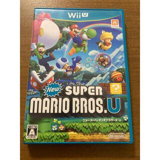 Wii U - NEWスーパーマリオブラザーズU   Wii  u