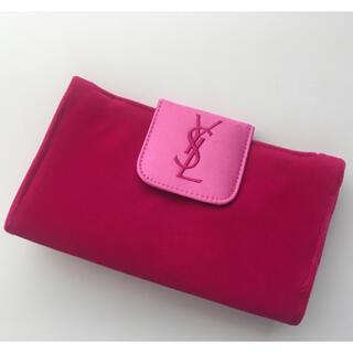 イヴサンローランボーテ(Yves Saint Laurent Beaute)のイヴサンローラン ポーチ コスメ バニティ 新品 ピンク ミラー 化粧ポーチ(メイクボックス)