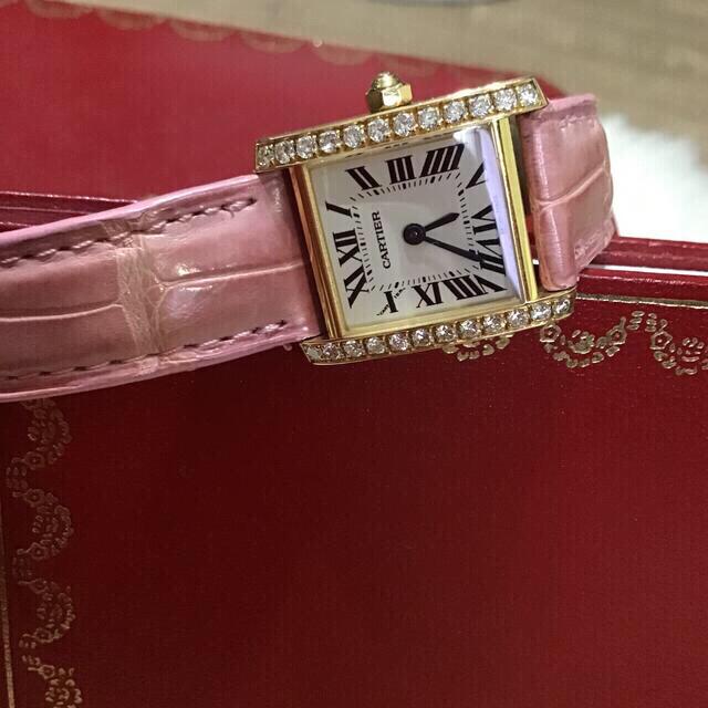 Cartier(カルティエ)のカルティエ 時計 純正タイヤベゼル 最終値下げ レディースのファッション小物(腕時計)の商品写真