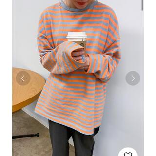 ビームスボーイ(BEAMS BOY)の【完売品】nimiru 配色ボーダーロンT(Tシャツ(長袖/七分))
