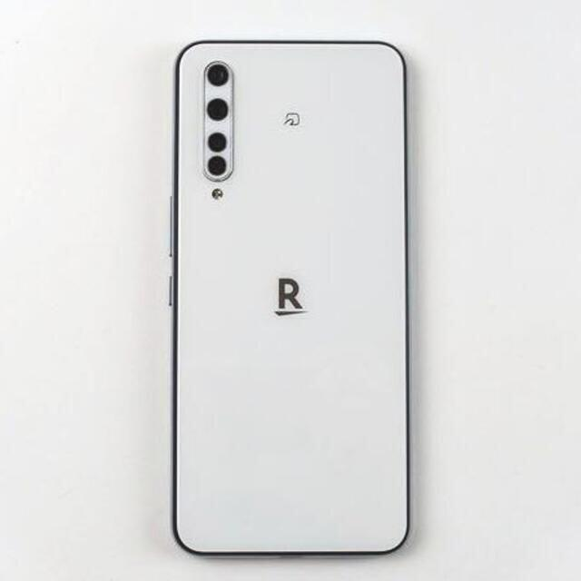Rakuten(ラクテン)の新品!RakutenBIG ホワイト スマホ/家電/カメラのスマートフォン/携帯電話(スマートフォン本体)の商品写真