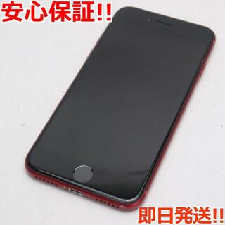 アイフォーン(iPhone)の美品 SOFTBANK iPhone8 64GB レッド (スマートフォン本体)
