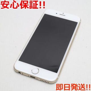 アイフォーン(iPhone)の良品中古 SIMフリー iPhone6S 64GB ゴールド (スマートフォン本体)