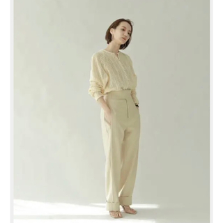 TODAYFUL - 【louren】waistbelt highwaist tack pants