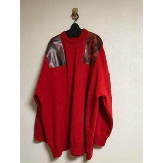 RAF SIMONS - RafSimons オーバーサイズパッチセーター