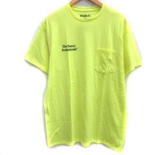 エンノイ スタイリスト私物 BRIDGSTONE M Tシャツ カットソー 黄