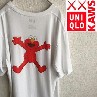 UNIQLO - ユニクロ カウズ セサミストリート 半袖 Tシャツ L UNIQLO KAWS