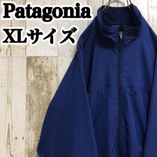 パタゴニア(patagonia)の【パタゴニア】【XL】【ワンポイント】【ロゴ刺繍】【ナイロンジャケット】(ナイロンジャケット)
