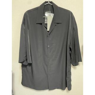 ラッドミュージシャン(LAD MUSICIAN)のラッドミュージシャン オープンカラーシャツ ブラック(Tシャツ/カットソー(半袖/袖なし))