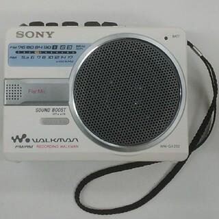WALKMAN - SONY WALKMAN ウォークマン WM-GX202 ラジオ テープレコーダ
