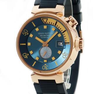 ルイヴィトン(LOUIS VUITTON)のルイヴィトン  タンブール ダイビング Q103E 自動巻き メンズ 腕(腕時計(アナログ))