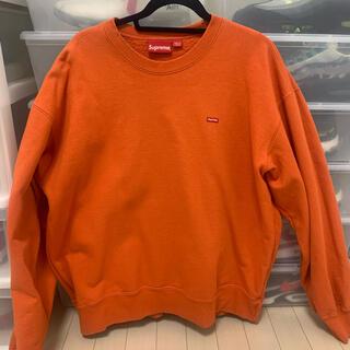 Supreme - 【XL】Supreme Small Box Crewneck Orange