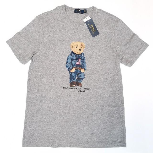 Ralph Lauren(ラルフローレン)のRALPH LAUREN ポロベア 国内正規品 Tシャツ アメリカ国旗 星条旗  メンズのトップス(Tシャツ/カットソー(半袖/袖なし))の商品写真