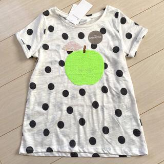 H&M Tシャツ 120/130 りんご スパンコール