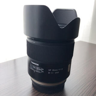 タムロン(TAMRON)のTAMRON SP35mm f/1.8 Di VC USD 単焦点(レンズ(単焦点))