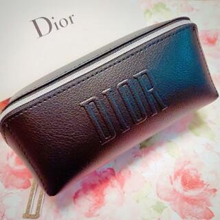 Dior - ディオール ノベルティ ポーチ ブラック レーザー調