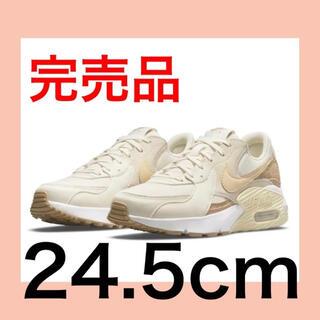 NIKE - 24.5 ナイキ  エアマックスエクシーコルク/ホワイト DJ1975-100