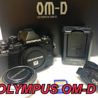 OLYMPUS - OLYMPUS OM−D E−M10 Mark 2 BLACK❤️