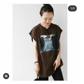 プラージュ(Plage)の本日まで!Plage プリントTシャツ(Tシャツ/カットソー(半袖/袖なし))