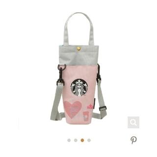 スターバックスコーヒー(Starbucks Coffee)のスタバ スターバックス 25周年 第2弾 ショルダーボトルケース(ショルダーバッグ)
