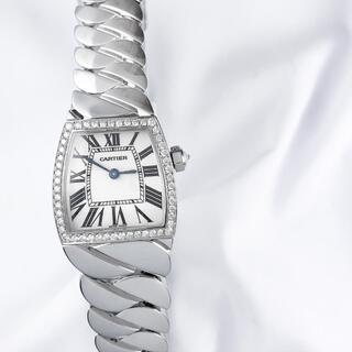 カルティエ(Cartier)の【保証書付】カルティエ ラドーニャ シルバー ダイヤ レディース 腕時計(腕時計)