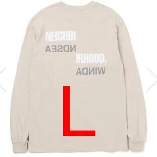 ネイバーフッド(NEIGHBORHOOD)のNEIGHBORHOOD × WIND AND SEA ロンT ベージュ [L](Tシャツ/カットソー(七分/長袖))