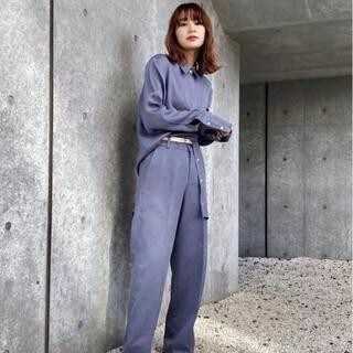 moussy - マウジー 【M_】CENTER PRESS パンツ moussy