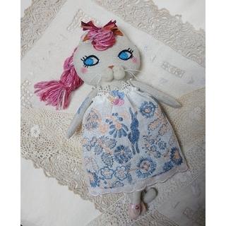 ミナペルホネン(mina perhonen)のSale!! バレリーナ猫 着せ替え人形 ミナペルホネン celebrate(ぬいぐるみ/人形)