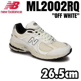 ニューバランス(New Balance)の新品 NEW BALANCE ML2002RQ オフホワイト 26.5cm(スニーカー)