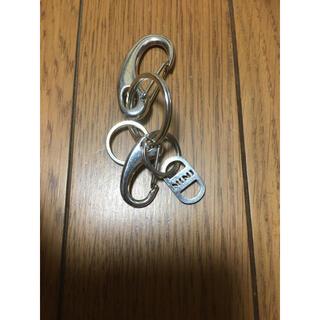 NUMBER (N)INE - 中古ナンバーナイン銀色カラビナ キーホルダー キーケース