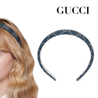 Gucci - GUCCI デニム カチューシャ GGNiziU 新品未開封