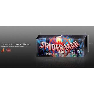 マーベル(MARVEL)の『スパイダーマン:スパイダーバース』ロゴ・ライトボックス(アメコミ)