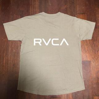 RVCA - RVCA ルーカ tシャツ ベージュ バックプリント Mサイズ