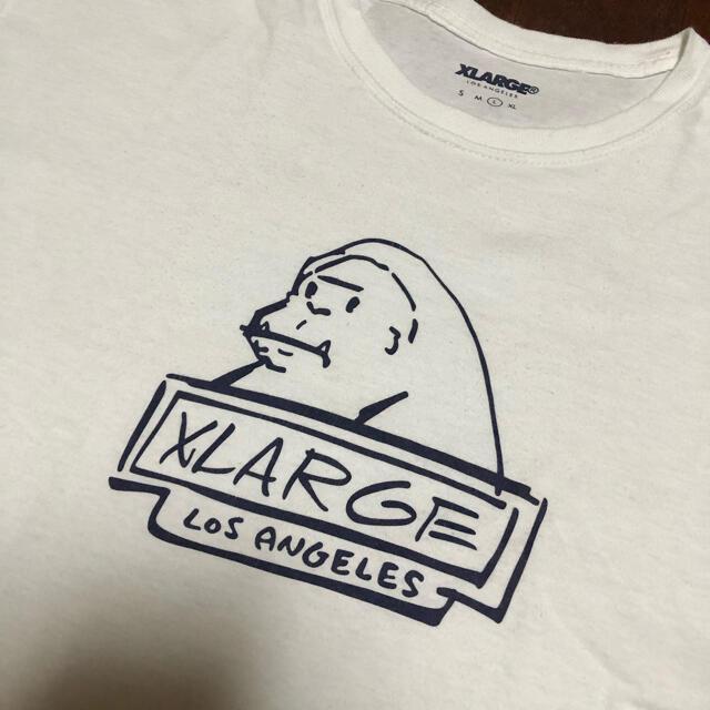 XLARGE(エクストララージ)のXLARGE エクストララージ  Los Angeles  ホワイト tシャツ メンズのトップス(Tシャツ/カットソー(半袖/袖なし))の商品写真