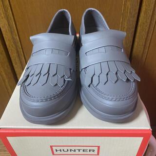 ハンター(HUNTER)の未使用 HUNTER ハンター リファインドフリンジペニーローファー(ローファー/革靴)