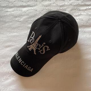 バレンシアガ(Balenciaga)の新品未使用★バレンシアガ ベースボールキャップ Lサイズ ブラック黒(キャップ)