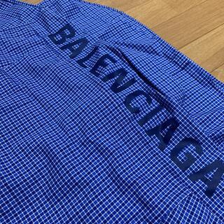 Balenciaga - 《新品•未着用》バレンシアガ 半袖オーバサイズシャツ36