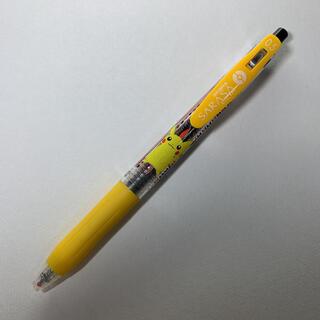 ポケモン(ポケモン)のポケモンセンター SARASA CLIP ピカチュウ 黒 0.5(ペン/マーカー)