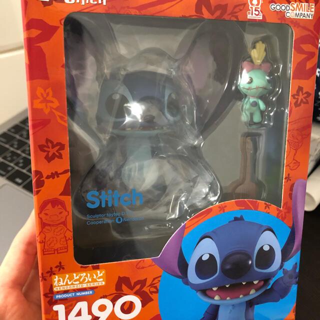 Disney(ディズニー)のスティッチ ディズニー lilo & stitch ねんどろいど 1490 エンタメ/ホビーのおもちゃ/ぬいぐるみ(ぬいぐるみ)の商品写真