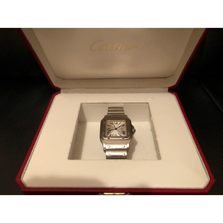 Cartier - 正規品 Cartier カルティエ サントスガルベ LM 自動巻 2319