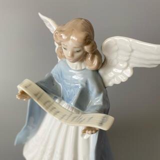 ★絶盤★美品★リアドロ Lladro 天使 フィギュア フィギュリン 貴重
