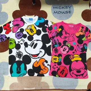 ディズニー(Disney)の東京ディズニーリゾート ミッキーミニー ペアTシャツ(Tシャツ(長袖/七分))