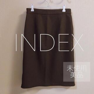 インデックス(INDEX)の【INDEX】【インデックス】タイトスカート(ひざ丈スカート)