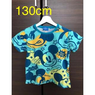 Disney - ディズニーリゾート★ブルー系★ミッキー★Tシャツ★130cm★